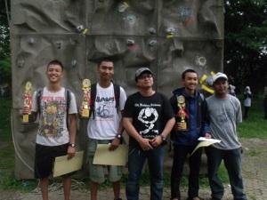 Dispora CUP, BAPOR, Tebing, Wall Climbing