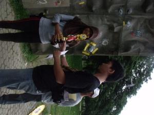 Kategori Umum, Putri, Wall, Climbing, Bapor, Dispora, Cup