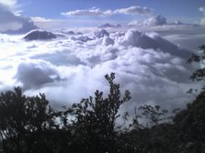 hamparan awan